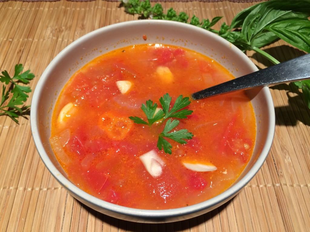 Super Simple Tomato Soup | MyWellBits